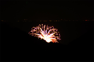 三浦の花火1